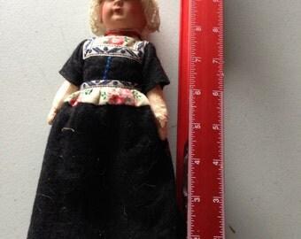 Dutch handmade 1930s doll