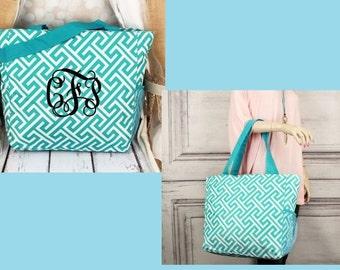 """Shop """"monogram tote"""" in Diaper Bags"""