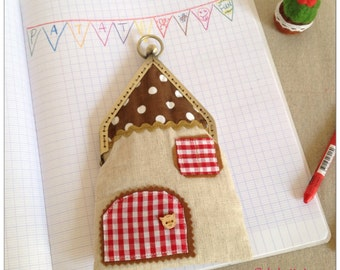 House bag 1 - handmade by PatateMaison-Kids-Gift-lovely sweet home