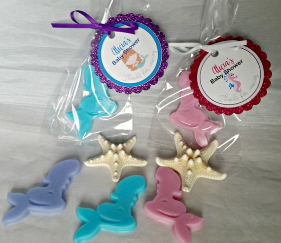 May The Fourth Be With You Wedding Favors: Mermaid Baby Shower Favor Growing A Mermaid Soap Baby Shower