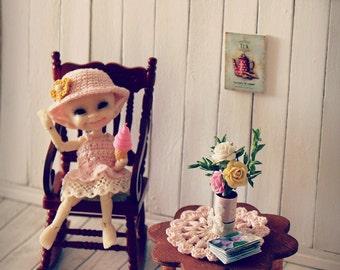 Rug crochet 5 cm