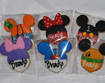 Mickey Mouse Clubhouse Cookies