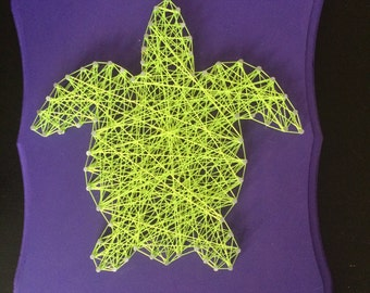 Turtle String Art