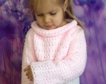 Toddler crochet shrug/ Baby crochet bolero/ Knit shrug/ Photo Props/ Crochet toddler sweater/ Girl crochet shrug/ Soft crochet baby shrug