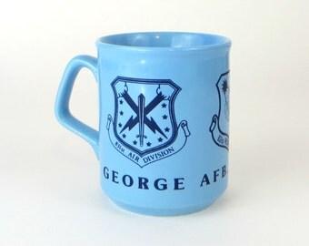 Vintage George AFB mug