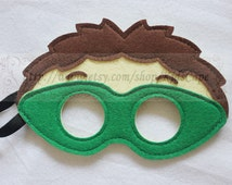 Party Pack 10 Masks - Why inspired dress up and Kids birthday party favor