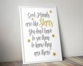 Best friends print, '...