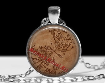 Sumerian star chart pendant, ancient sumerian jewelry, sumerian necklace, cuneiform necklace, ancient replica, ancient aliens jewelry #242