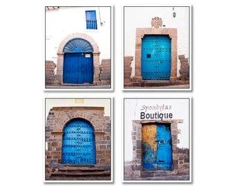 Blue Door Photo, travel photography, door photo, stone, blue, old door photo, urban art, home decor, wood, metal, urban decor, door photos