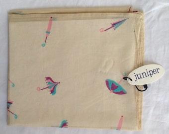 Parasol Print Scarf in 100% cotton