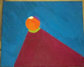 Samara - An abstract gouache painting