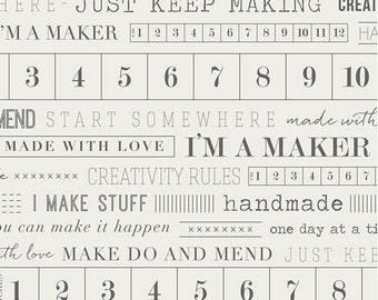 I'm A Maker From Maker MKR-3891 Half Yard