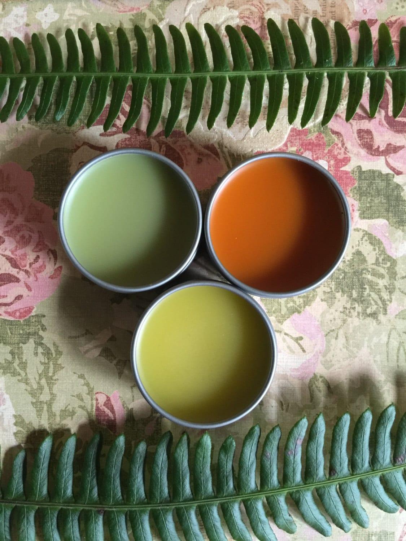 Natural Pain Management Herbal salve sampler kit