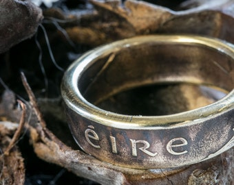 Irish Heritage Coin Ring