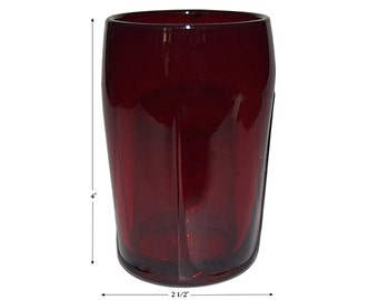 Paden City Spire #211 - 7oz. Ruby Tumbler