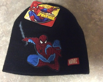 A Spider Man Skully for Boys with Tags, Marvel Kids Berkshire.