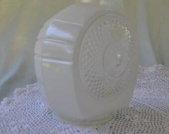 Vintage Glass Light Globe for a bathroom or hallway, 5 1/2 in. tall