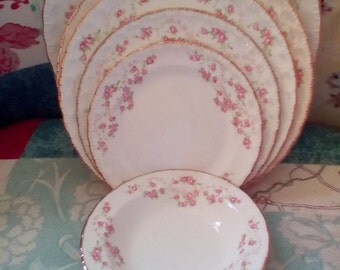 EASTER SALE~~Beautiful Vintage Pope Gosser China 23 Pieces..Florence Pattern