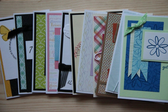 handmade cards for sale sale 11 handmade greeting cards sale set of cards 2099