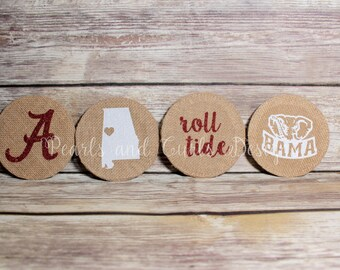College Football Coaster Sets