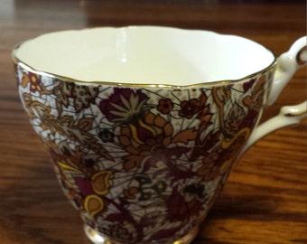 Grosvenor Chintz Tea Cup England