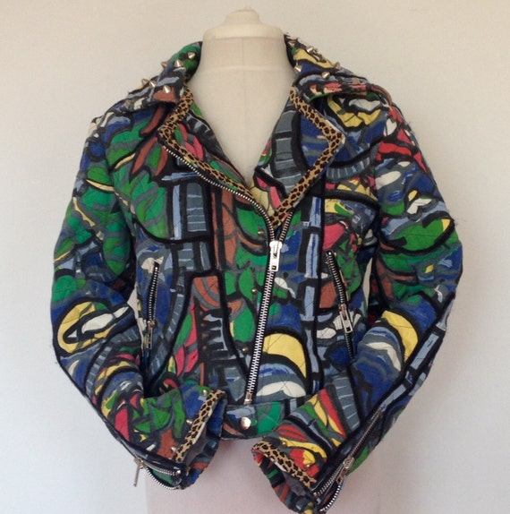One of a Kind Biker Jacket from Miss Lizzy London