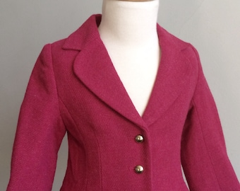 """Vintage Girl's Clothing, """"Janie and Jack Collection"""" Peplum Coat"""