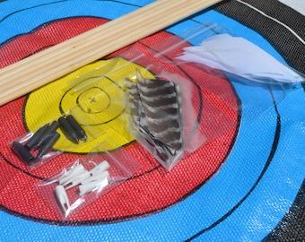 Archery arrow diy kit, Port Orford cedar shafts, build your own arrows