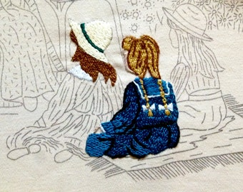 Story Time embroidery kit