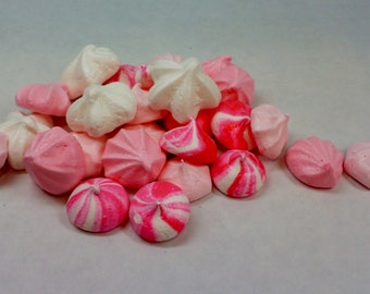 French Vanilla Meringue Kisses ~ 100 or 200 Pieces ~ You choose Color