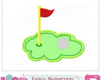Golf applique,Golf design,Golf embroidery,Sports design,Golf,Sports applique,Sport design,Sports,Embroidery machine. -03