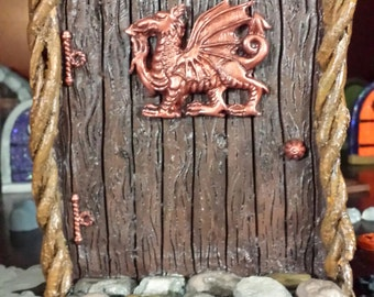 Garden fairy door, Gnome door, elf door, doorway to middle earth, Griffon door
