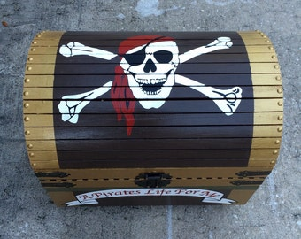 Pirate's Chest With Booty, Boy's Pretend Play