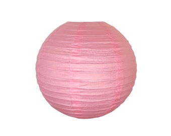 "12"" Pink Paper Lantern RPL120070 Just Artifacts Brand - Paper Lanterns for Weddings, Parties, & Home Decor"