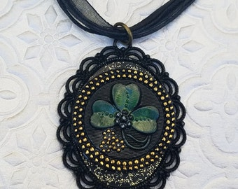 Three Leaf Clover Necklace