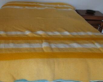 Vintage Baron Wool Blanket/Utah Made