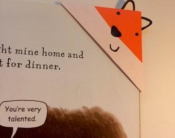 Fox Origami Bookmark