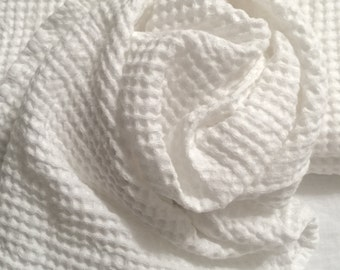 "Linen towel, Stonewashed, Large bath towel 38x52"", linen hand towel 21x30"", white towel,  Ideal for your  bath, spa"