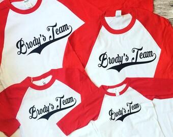 Seven Baseball Birthday Shirts Party Boys Shirt T