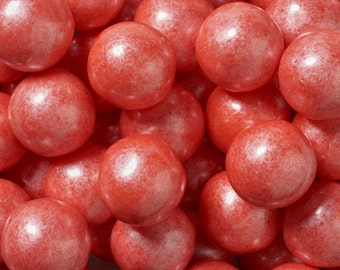 1 lb. of Shimmer Coral Gumballs for Candy Buffets. Showers. Parties. Weddings. Special Events