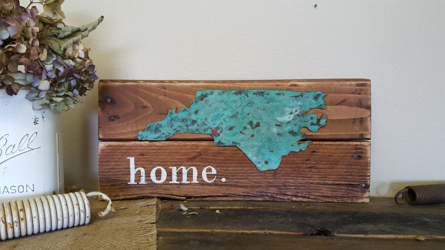home state sign wood signs rustic home decor rustic wood wall decor