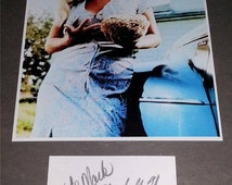 Joy Harmon autograph Signed Autographed index card star of Cool Hand Luke You Bet Your Life Gidget BATMAN the Monkees Village of the Giants