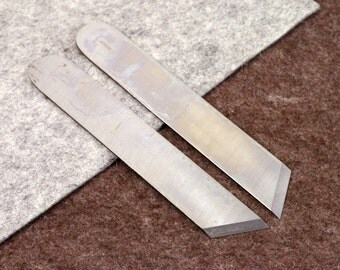 Angular Skiving Knife Vergez Blanchard/Leather Paring Knife/Saddlers Knife/Edge Skiver/Leather Sharp Knife/Bevel Skiver/Leather Cutting Tool