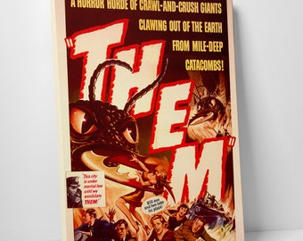 Them Gallery Wrapped Canvas Print
