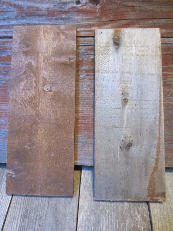 Weathered wood boards gray