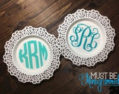 Monogram Jewelry Dish | Monogram Ring Dish | Bridesmaid Gift | Engagement Gift | Wedding Gift