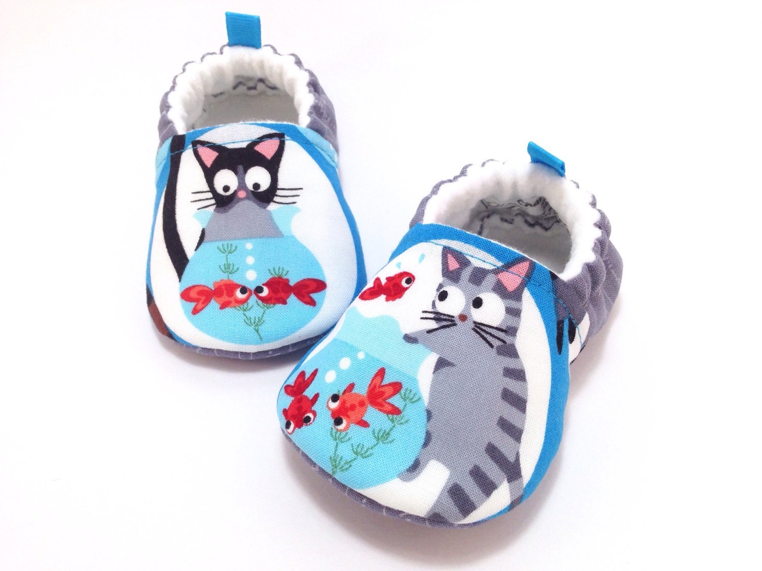Cat Baby Shoes Soft Sole Booties