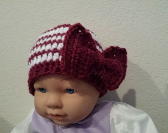 Baby Christmas crochet hat