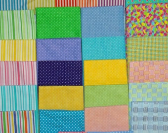 Five Photos of Fabric Selections for Appliques - Do Not Purchase this Listing