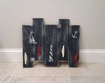Rustic Nautical Coat Rack